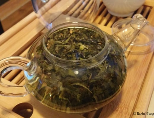 Vert Amande de David's Tea