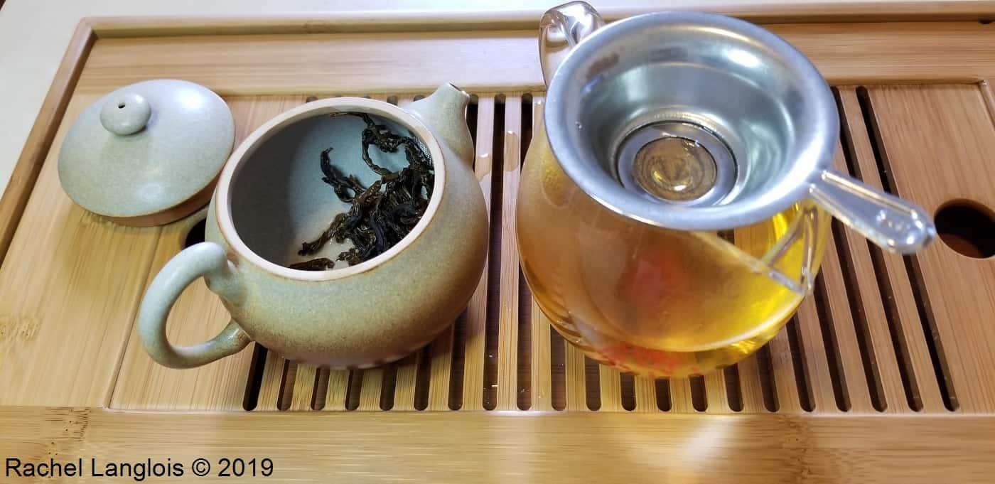 Dégustation d'un thé noir indien